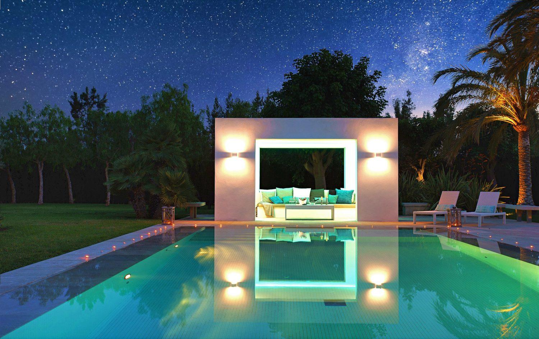Villa Llenaire pool
