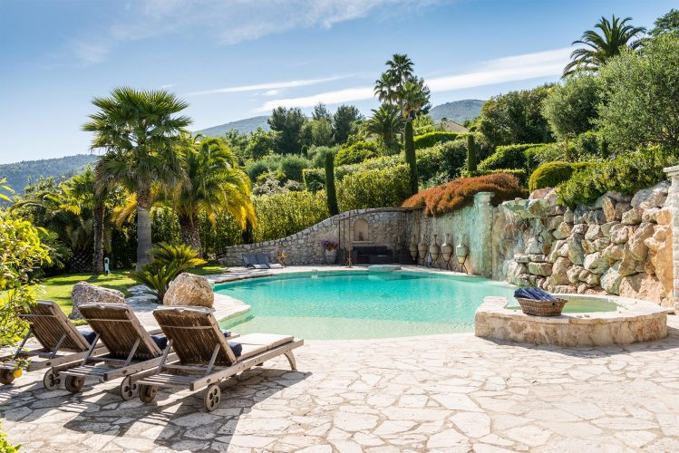 Villa La Bastide des Virettes pool