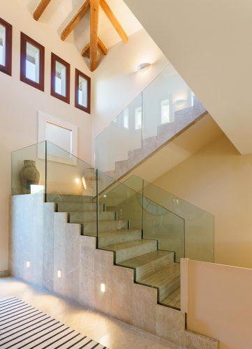 Villa Llenaire stairs