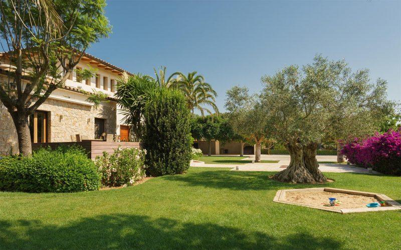 Villa Llenaire sandpit