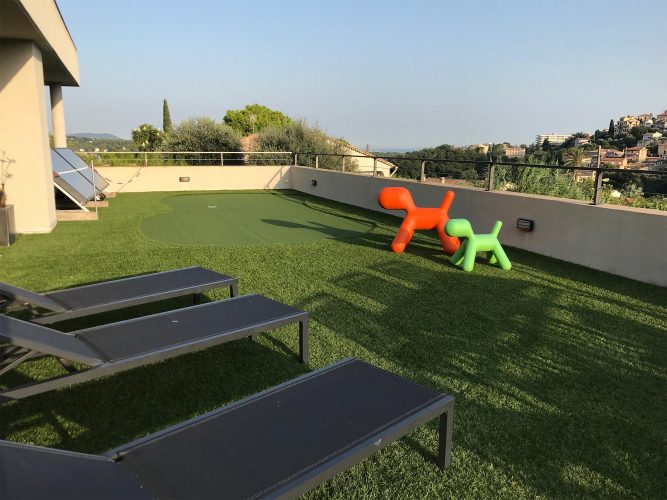 Villa Épure terrace