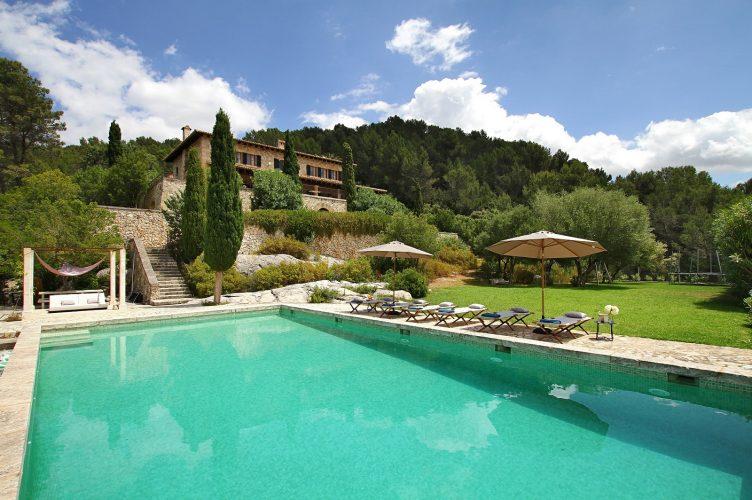 Villa Can Tramuntana pool