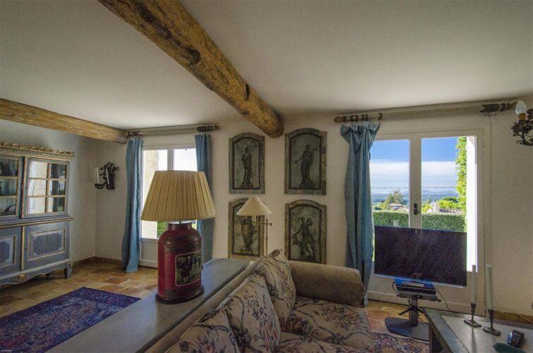 Villa La Bastide des Virettes sitting room