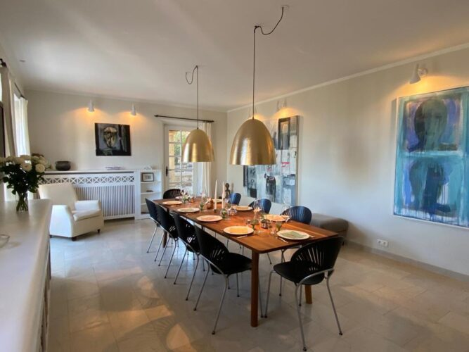 La Tour de Vence dining room